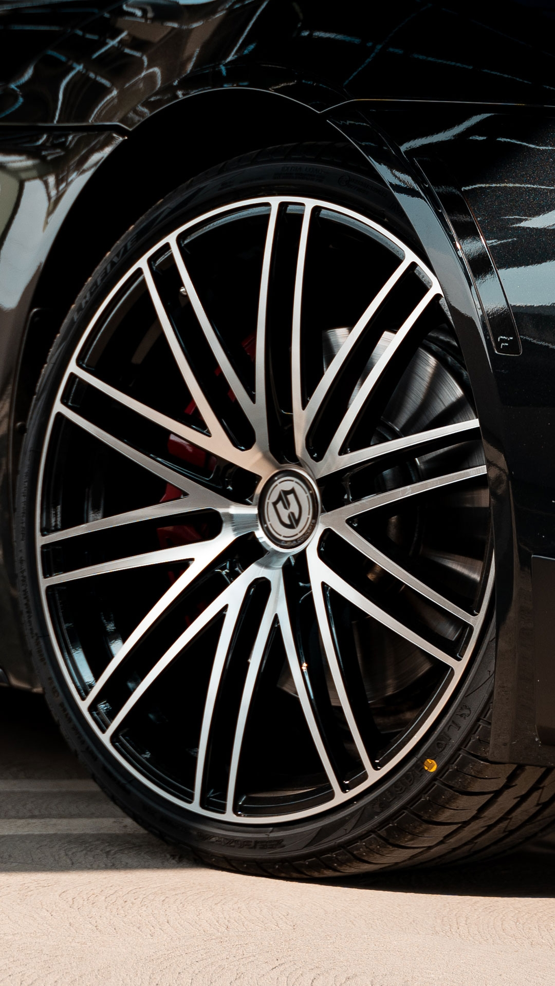 Curva Concepts CFF50 Flow Forged Aftermarket Wheels